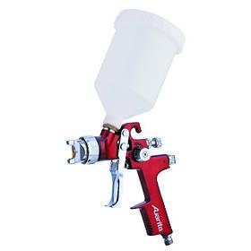Пневматичний фарборозпилювач HVLP верх.пласт.бачок 600мл, форсунка-1,3 мм AUARITA AB-17G-1.3