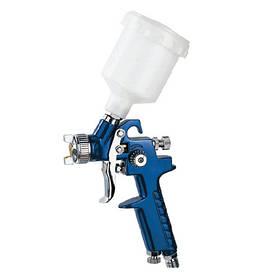 Краскопульт пневматичний тип HVLP верхній пластиковий бачок, діаметр форсунки-0,8 мм AUARITA H-2000P-0.8