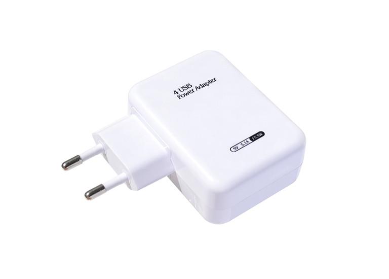 Сетевое зарядное устройство Travel adapter 4xUSB