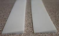 Полиуретановые косячки (рубцы) для ремонта обуви цвет белый
