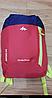 Рюкзак детский Quechua 7л. Цвет малиновый с фиолетовым., фото 4