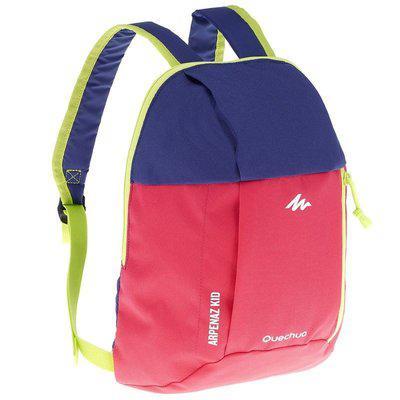 Рюкзак детский Quechua 7л. Цвет малиновый с фиолетовым.