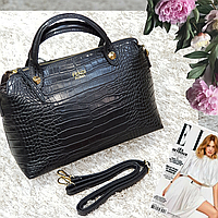 Брендовая женская сумка черная