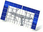 Солнечный трекер двухосный ESTAR Tech 40-10 кВт (система слежения за солнцем)