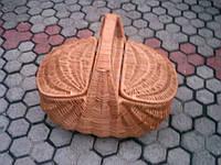 Корзинки на пикник плетеные из лозы