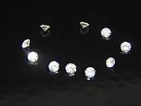 Бриллиант натуральный природный белый чистый купить в Украине 2,8 мм 0,08-9 карат 3/4-3/5, фото 1