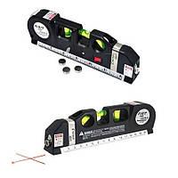 Лазерный уровень Fixit Laser Level Pro PR0 4 со встроенной рулеткой