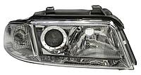 ФАРА передняя правая R AUDI A4 B5 99- (ЭЛЕКТР./ЛИНЗА С ПОВОРОТНИКОМ)