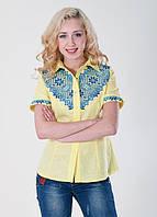 "Женская вышитая блузка ""Галычанка"" в расцветках (0108/15)"