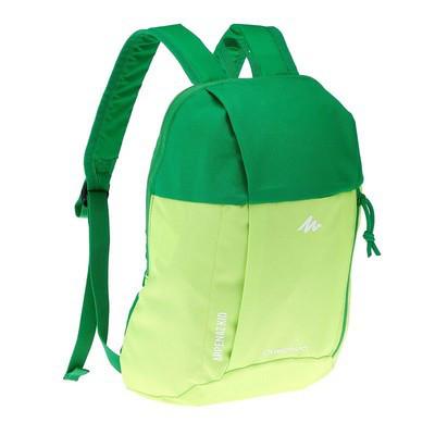 Рюкзак детский Quechua 7л. Цвет салатовый с зеленым.