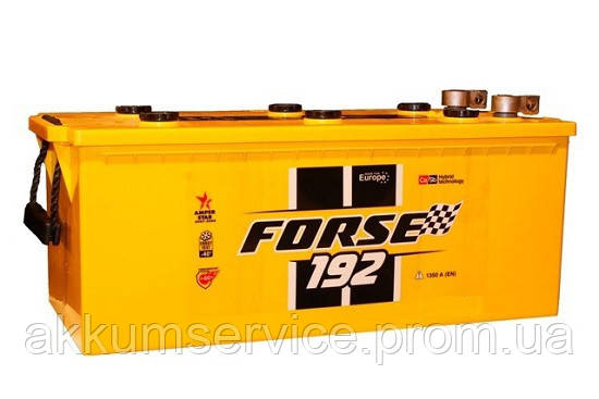 Аккумулятор грузовой Forse 192AH R+ 1350A