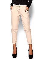 Женские бежевые брюки, фото 1