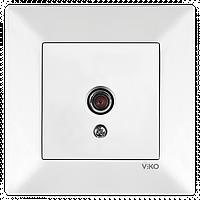 Розетка ТВ VIKO Meridian Белый (90970110)