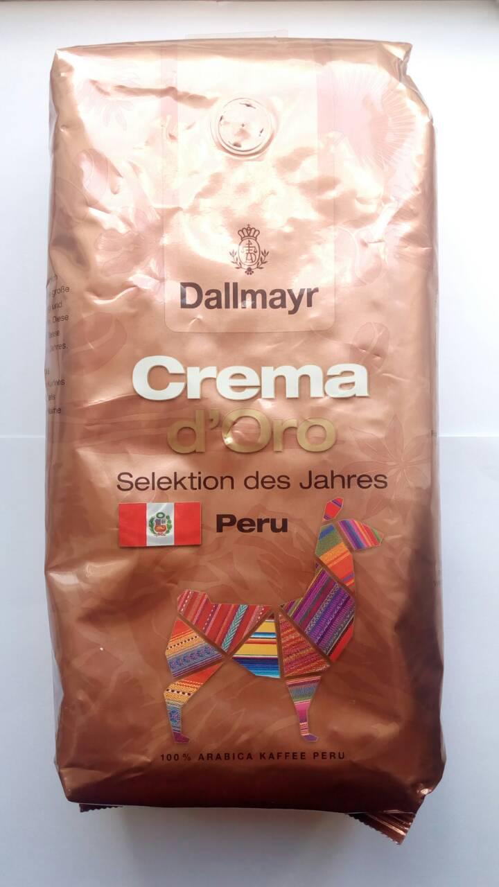 Кофе в зернах Dallmayr  d'Oro Crema Peru 1 кг