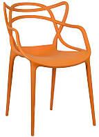 Стул Masters Chair оранжевый, пластик PP, дизайнPhilippe Starck
