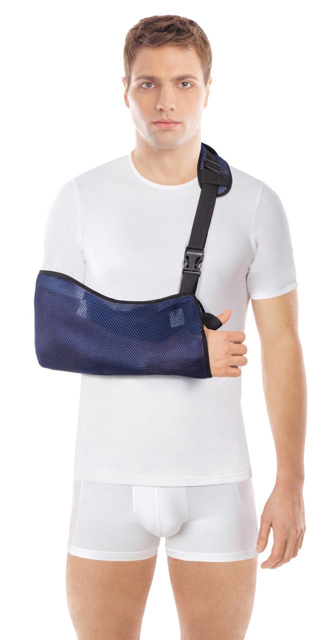 Бандаж для поддержки руки косынка косыночная повязка из сетчатого материала торос груп тип 610 с