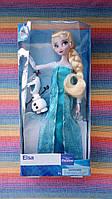 Кукла Ельза и снеговик Олаф_Холодное сердце Disney_Оригинал