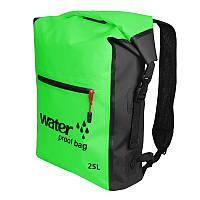 Рюкзак водонепроницаемый Sinotop 25L зелёный, фото 1