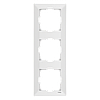 Тройная вертикальная рамка VIKO Meridian Белый (90979003)