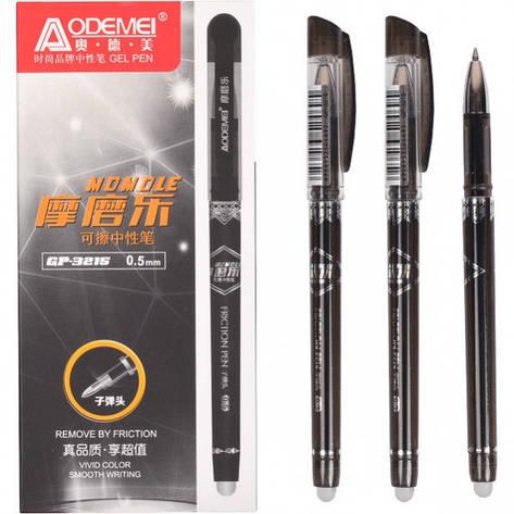 Ручка «пишет-стирает» 3215 черная, фото 2