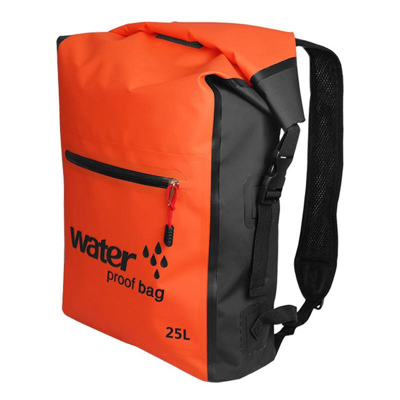 Рюкзак водонепроницаемый Sinotop 25L оранжевый