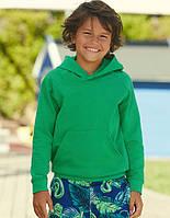 Детская лёгкая толстовка кенгуру с капюшоном Lightweight Hooded Sweat Kids 62-009-0