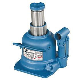 Домкрат бутылочный профессиональный низкопрофильный двухштоковый 10т 125-225 мм   TORIN  TH810002