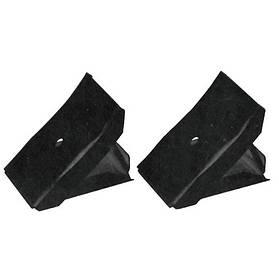 Черевик противооткатный складаний металевий комплект 2шт. для легкових автомобілів TORIN TRF3553