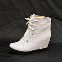 Сникерсы-ботинки  IK-1433 (белый)
