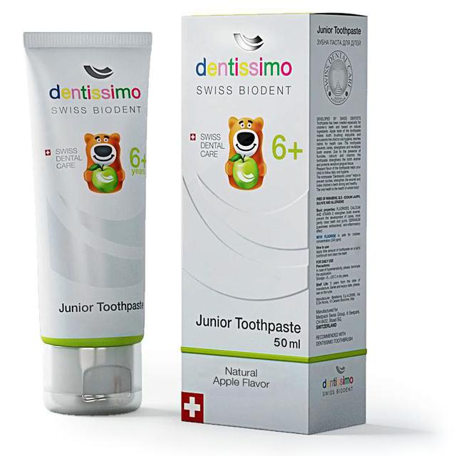 Зубная паста для детей Dentissimo от 6 лет TP0004