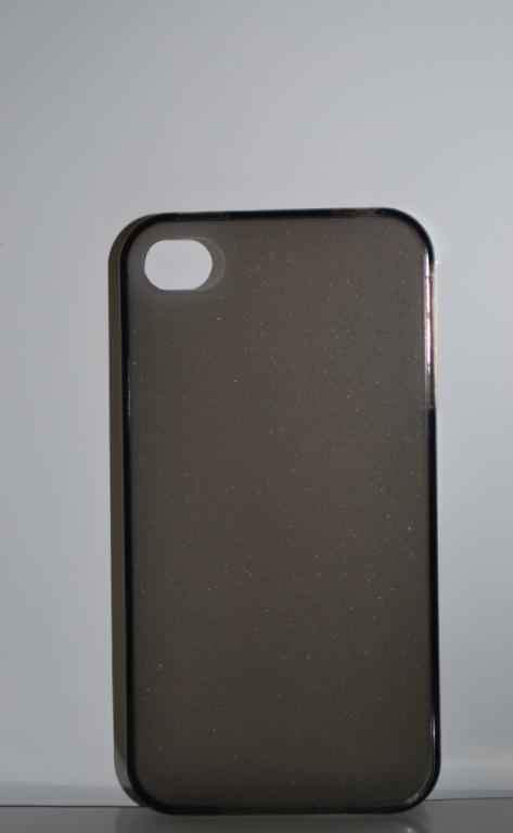 Силиконовый серый чехол для Iphone 4 4s, A232