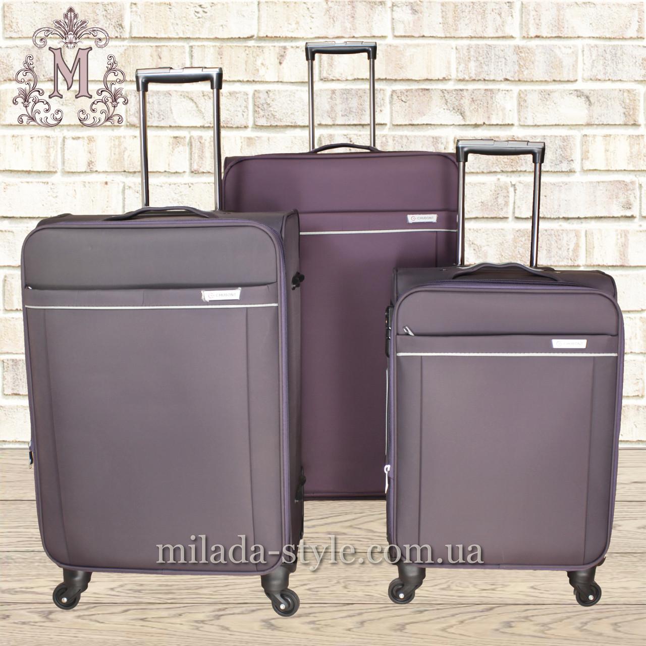 Комплект чемоданов  4 колеса