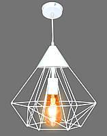 Светильник LOFT E27 316*295мм металл NL0538 белый