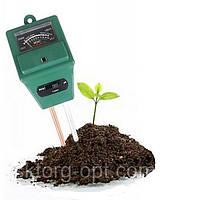 PH-метр садовый (PH-тестер) ph-метр,  люксометр для почвы