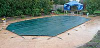 Защитное всесезонное накрытие батут для бассейнов