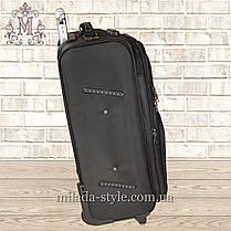 Комплект чемоданов 2-х колесных (черный), фото 3