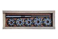 Набор зенкеров для сёдел клапанов ВАЗ 2110  ( 16 V )   (9 резцов)   (Харьков)  ШАР10-9РХ