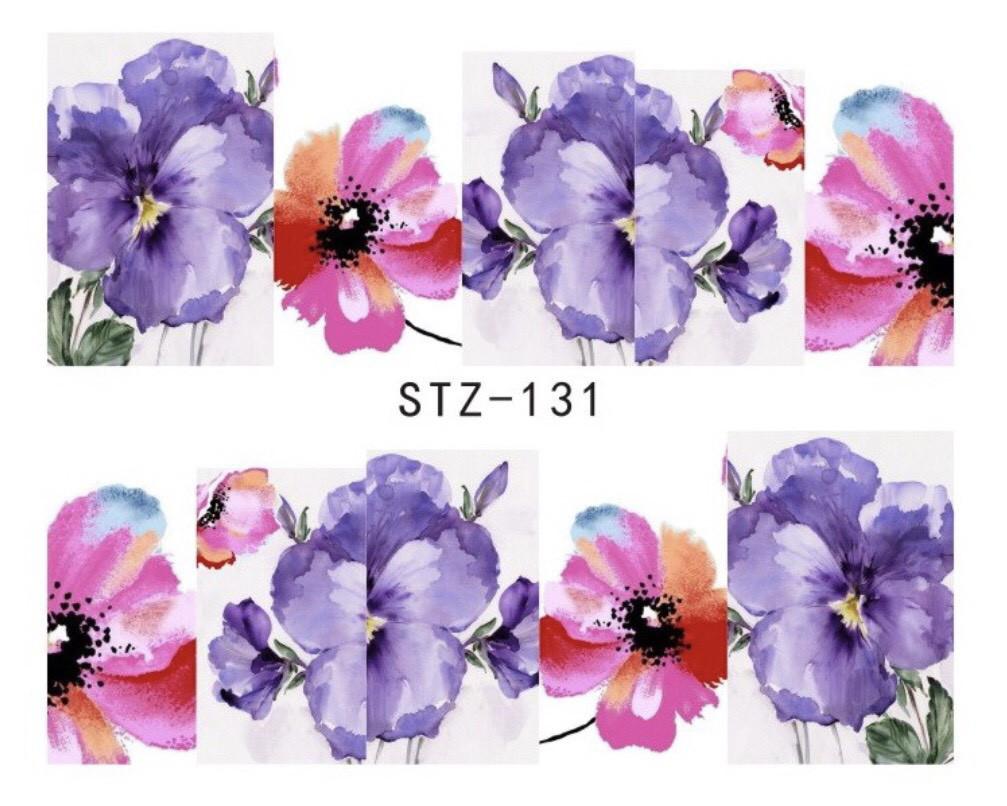 Слайдер-дизайн для ногтей STZ-131 6.2*5.2 см