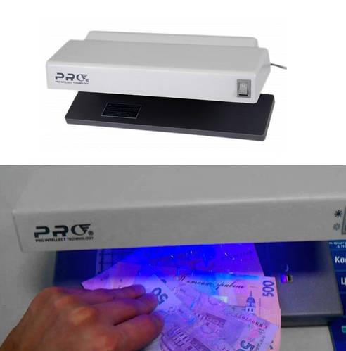PRO - 4 компактный ультрафиолетовый детектор валют \ банкнот 4W
