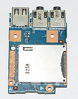 Плата USB, Audio, Cardreader Lenovo B570, B570e V570 ( 48.4PA04.01M  ) бу