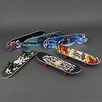Скейт 2406 (20) PVC колесо, с подшипниками, крепежы для колёс пластмассовые, доска из листовой фанеры, d=5 см