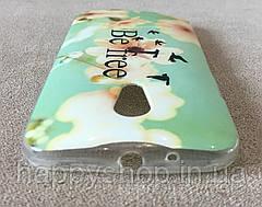 Силиконовый чехол для Motorola MOTO G2 (Be Free), фото 2