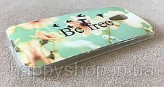 Силиконовый чехол для Motorola MOTO G2 (Be Free), фото 3