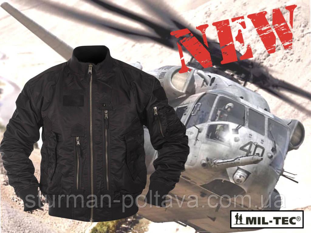 Куртка мужская демисезонная  тактическая  AVIATOR  нейлон  Mil-tec  цвет  черный  Германия