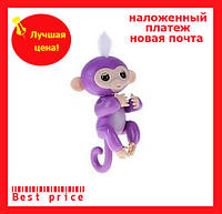 Интерактивная обезьянка Fingerlings (purple)