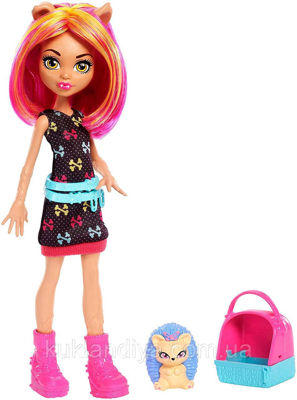 Кукла Monster High Хоулин Вульф с питомцем - Monster Family Howleen Wolf