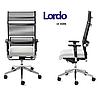 Кресло офисное руководителя c высокой спинкой Enrandnepr LORDO DAUPHIN Черный, фото 2