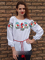 """Женская вышиванка """"Полевой цветок"""" 556 (Л.Л.Л) , фото 1"""