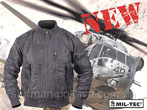 Куртка мужская демисезонная  тактическая  AVIATOR авиационный   нейлон  Mil-tec  цвет серый размер М Германия