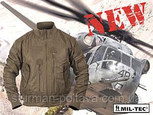Куртка мужская демисезонная  тактическая  AVIATOR US TACTICAL FLIEGERJACKE  нейлон  койот Mil-teс Германия